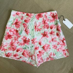Floral shorts from Leith. NWT
